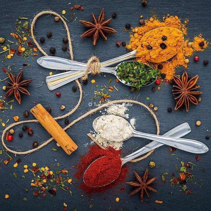 Servizio fotografico cibo con food styling a San Miniato