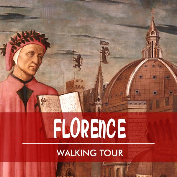 Walking tour in Florence Dante