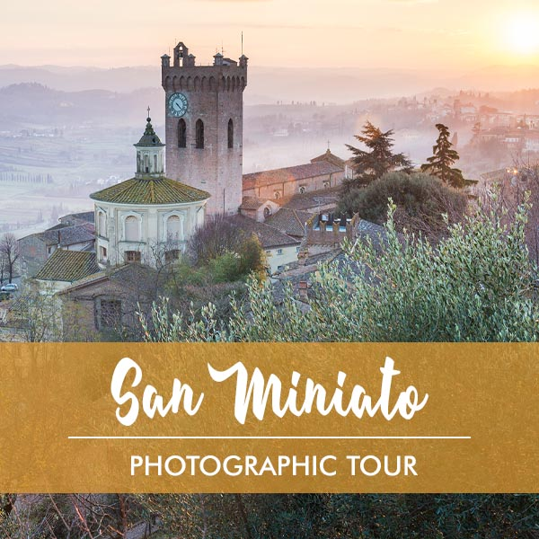 Photographic tour in San Miniato Tuscany