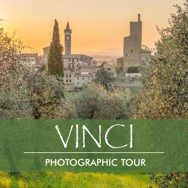 Photographic tour in Vinci Tuscany
