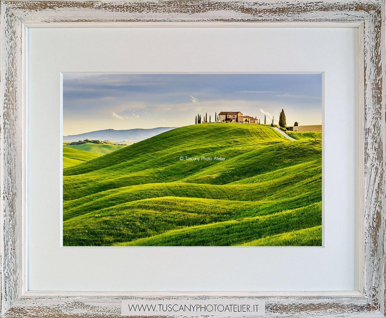 Stampa Fine Art paesaggio della Toscana - Crete Senesi, Siena