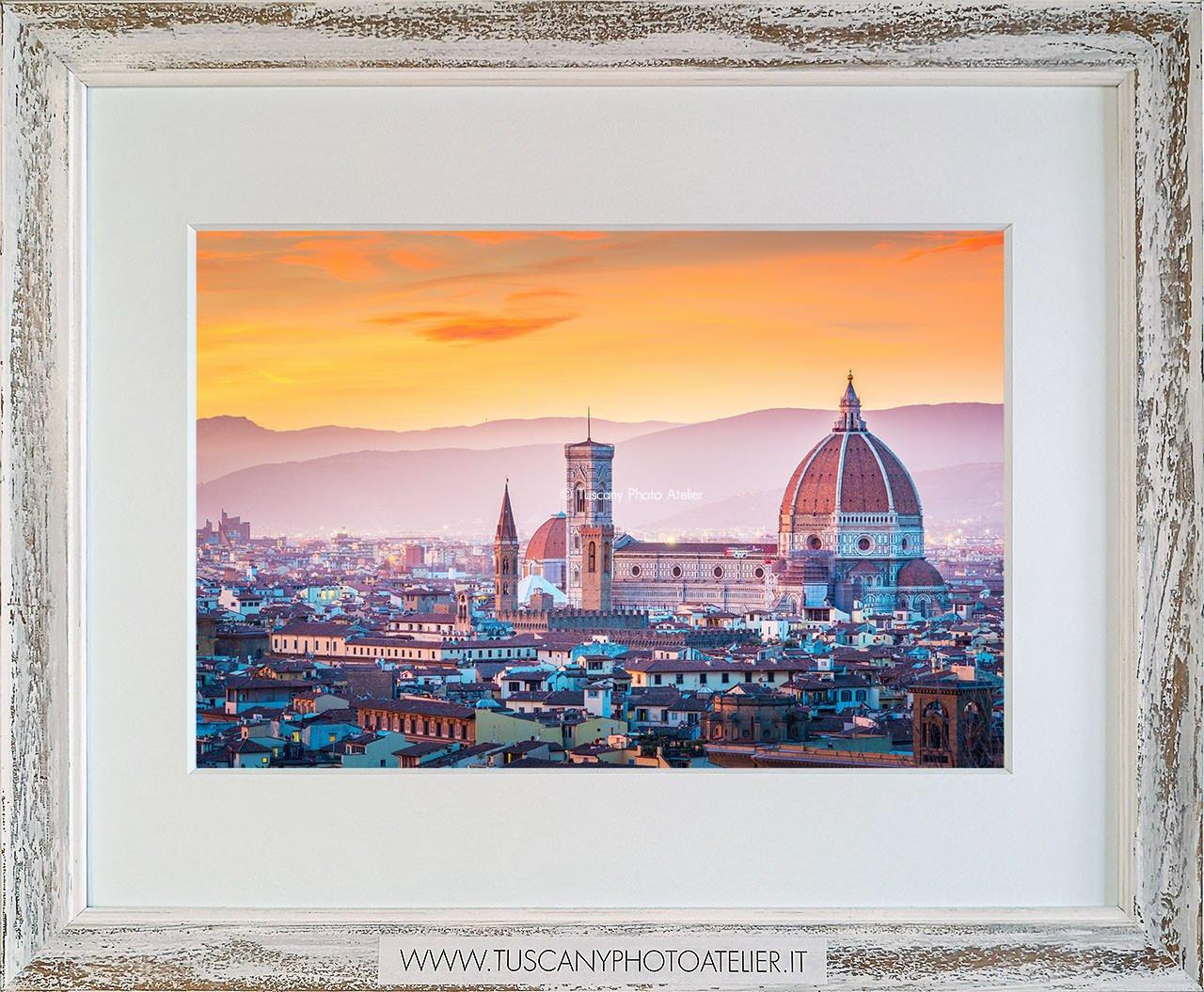 Stampa Fine Art paesaggio della Toscana - Firenze