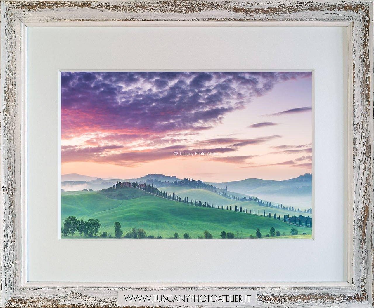 Stampa Fine Art paesaggio della Toscana - Leonina
