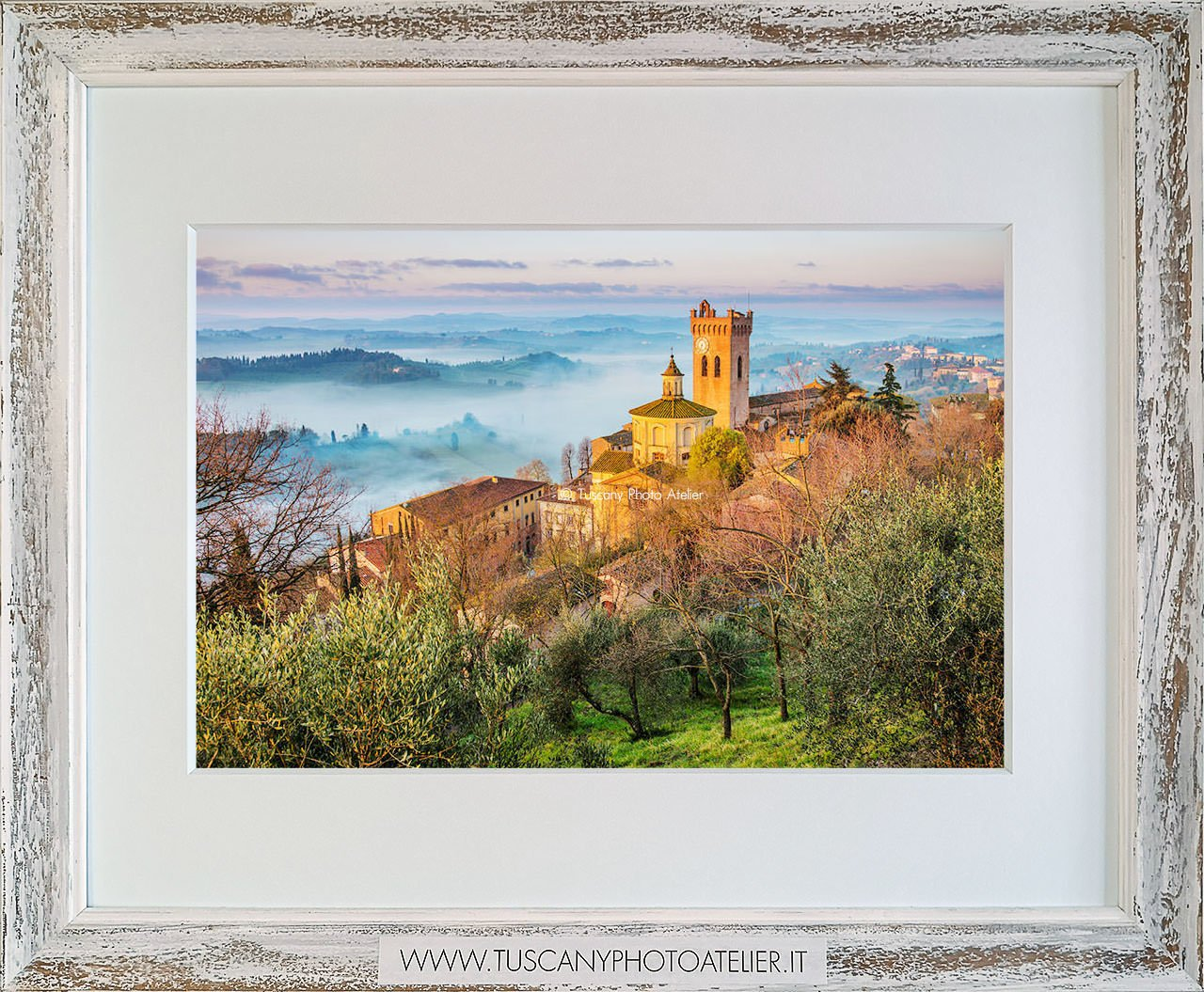 Stampa Fine Art paesaggio della Toscana - San Miniato