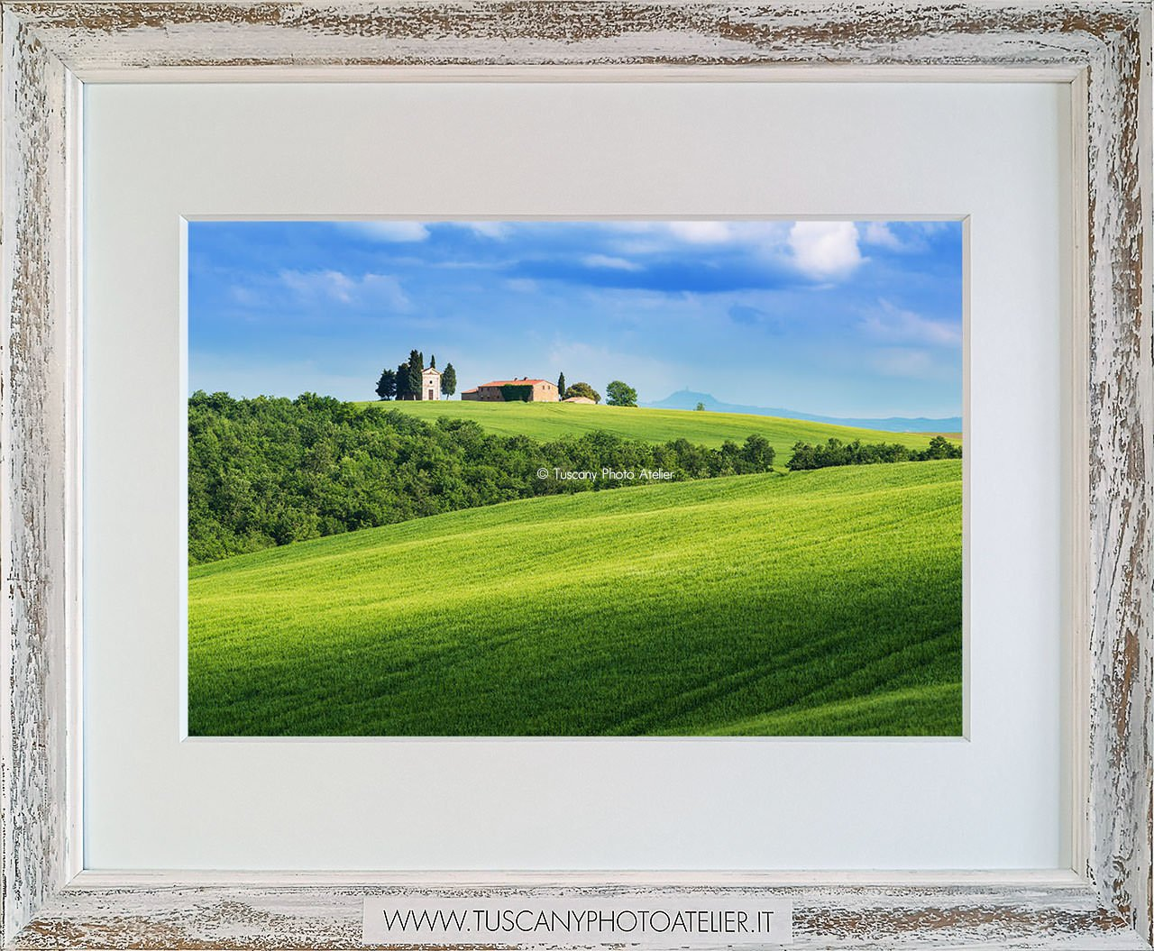 Stampa Fine Art paesaggio della Toscana - Vitaleta, Siena